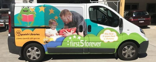Ipswich-City-Council-First-5-Forever-Van-Wrap_200x500