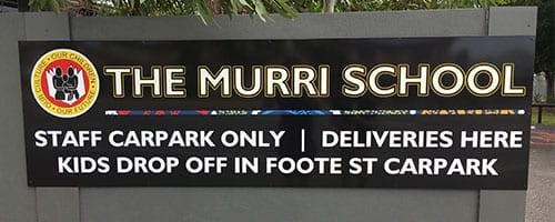 The-Murri-School-Carpark-Sign_200x500