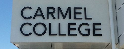 Carmel-College_Acrylic-Letters_200x500