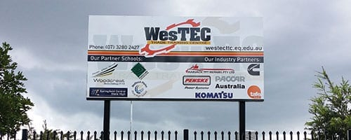 West-Tec_Signage-on-Posts_200x500