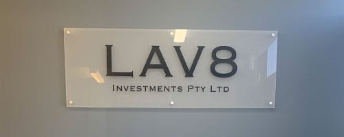 LAV8-investments-reception-sign_200x500